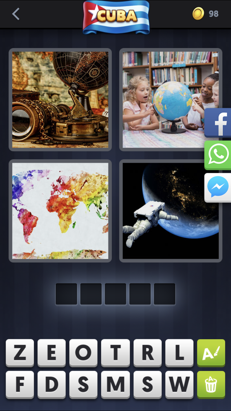 Whats the Word? 4 Pics 1 Word Answers All]